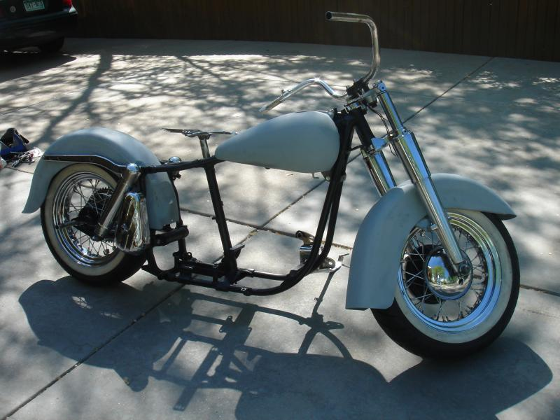 Late 60\'s flh rolling chassis : V-Twin Forum: Harley Davidson Forums