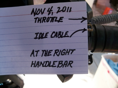 Thottle & Idle Cable All Screwed-Up | V-Twin Forum