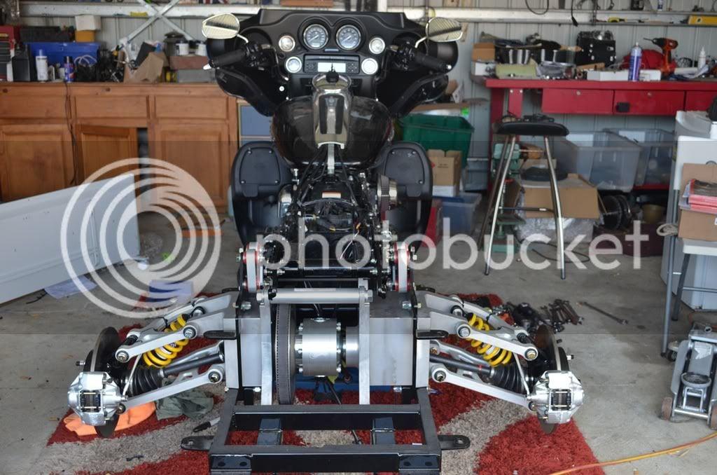 Champion Trike Kit Install | V-Twin Forum
