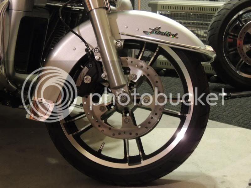 2014 Street Glide Enforcer Wheels on my Electra Glide | V