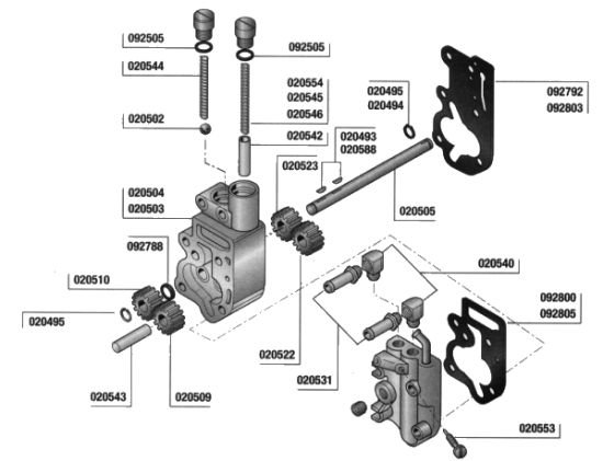Harley Evo Oil Pump Diagram on