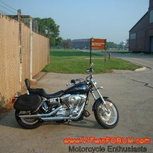 2002 Super Glide with FXST bars #4