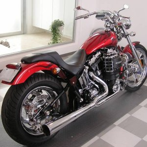 2002 Twin Cam 95 SuperCharged Softail