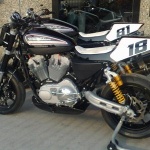 XR 1200 racing in Italy.